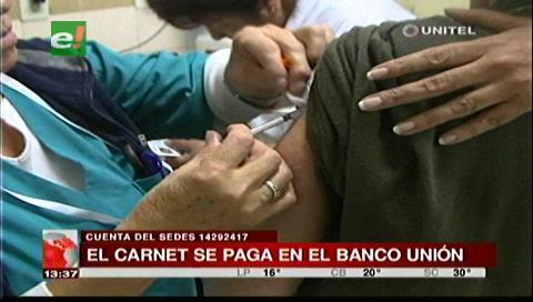 Santa Cruz: 9 centros para vacunar y dar carnet de fiebre amarilla