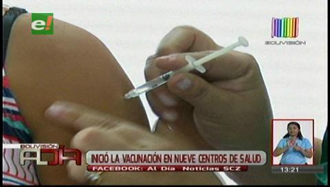 Centros de salud iniciaron vacunación contra fiebre amarilla