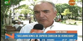 UN rechaza acusaciones de Gabriela Zapata contra Samuel Doria Medina