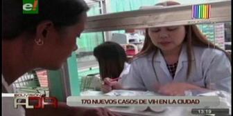 170 casos de SIDA en dos meses en Santa Cruz