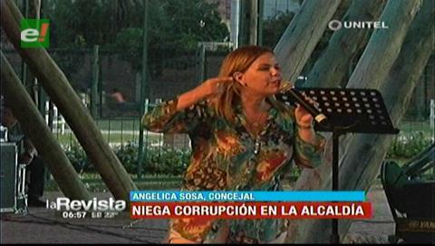 Concejal Sosa defendió a Percy y negó que hay corrupción en la Alcaldía