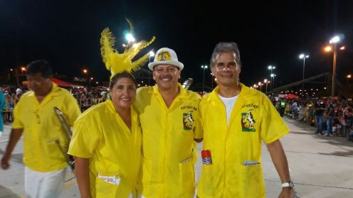 Chivatos: Jose Erneto Vargas, Freddy Gonzales y Kity Lopez