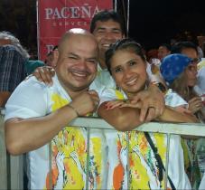 Alan Paúl Sandoval y Lorena Terrazas