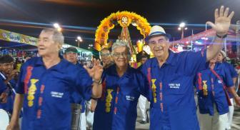 Lider Castedo, Guido Ardaya y Freddy Terrazas