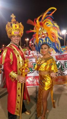 Faranduleros: Rodrigo Mendes Roca y Gabriela Oriendo