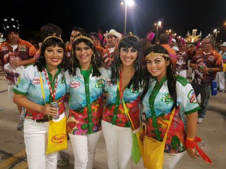 De Cleopatras, Lauren Toledo, Tania Monasterio, Silvana Carrasco y Stephanie Rankin