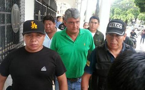 El exgobernador de Beni, Ernesto Suárez.