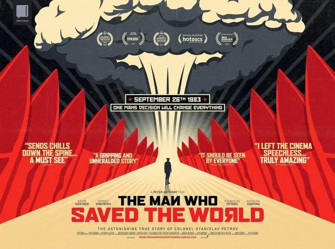 Cartel del documental de 2014 sobre Petrov