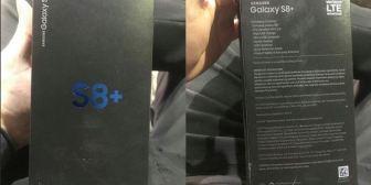 La caja de los nuevos Galaxy S8+ es lo poco que faltaba pro filtrar