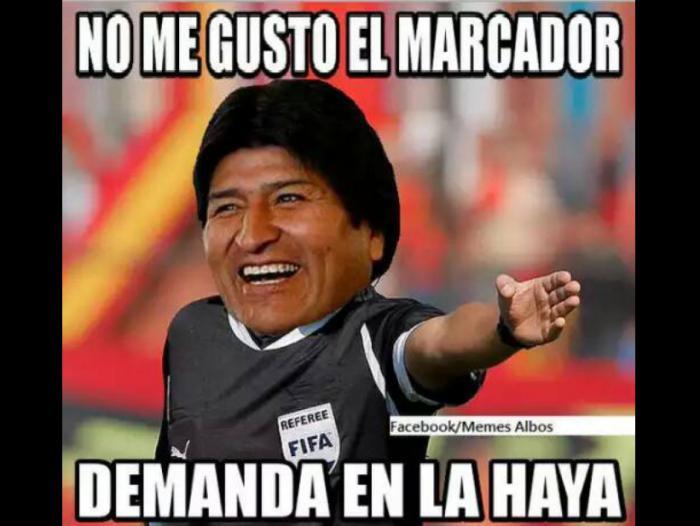 Los memes de la derrota de Bolivia frente a Colombia por 1 a 0