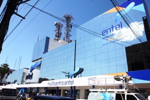 """Entel lista para lanzar """"tripack"""" de internet, telefonía y televisión con fibra óptica"""