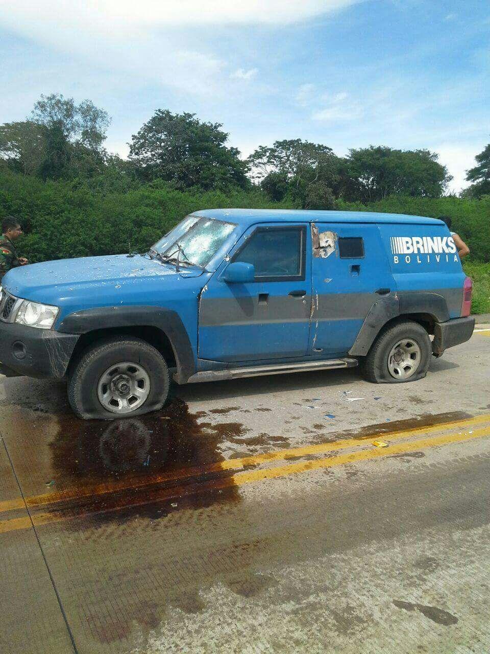Millonario asalto en carretera a Roboré