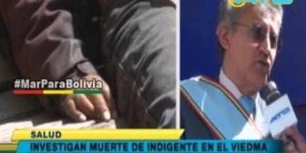 Gobernador Canelas tomará medidas por muerte de indigente en el Hospital Viedma