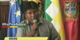 Oruro destina más de Bs 547 millones para garantizar el abastecimiento de agua