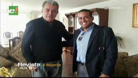Vicepresidente del Comité Cívico Pro Santa Cruz visitó a Leopoldo Fernández