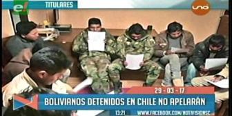 Video titulares de noticias de TV – Bolivia, mediodía del miércoles 29 de marzo de 2017