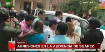 Agreden a Rubén Costas al salir de la audiencia de Ernesto Suárez, Demócratas acusan a Alex Ferrier