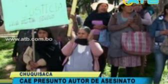 Arrestan a adolescente que mató a un joven de 19 años en Sucre