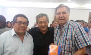Daniel Pasquier, Rolando Arostegui y Bismark Kreidler