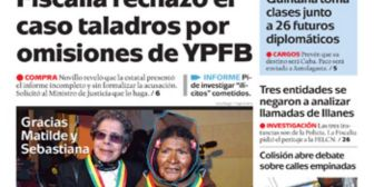 Portadas de periódicos de Bolivia del jueves 30 de marzo de 2017