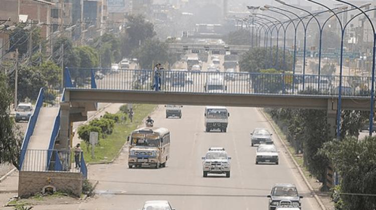 Accidente de tránsito deja el saldo de dos muertos en Cochabamba