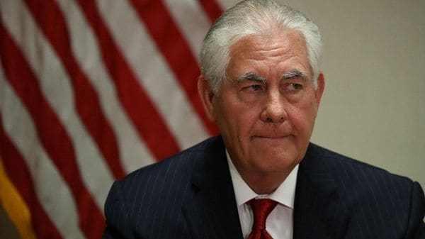 Rex Tillerson (AFP)