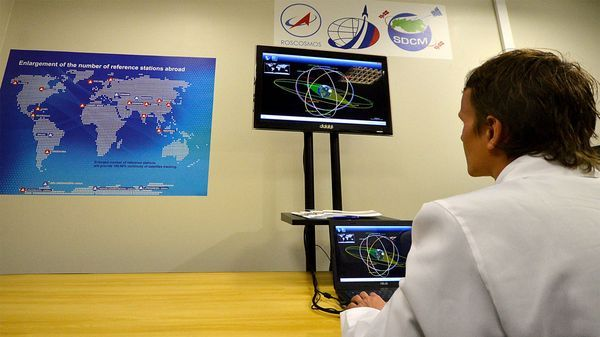 En pantallas como esta los rusos podrán hacer seguimiento de los dispositivos que dispongan a partir de la tecnología aportada por Glonass (Getty Images)