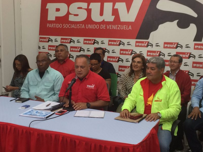 Diosdado Cabello asegura que