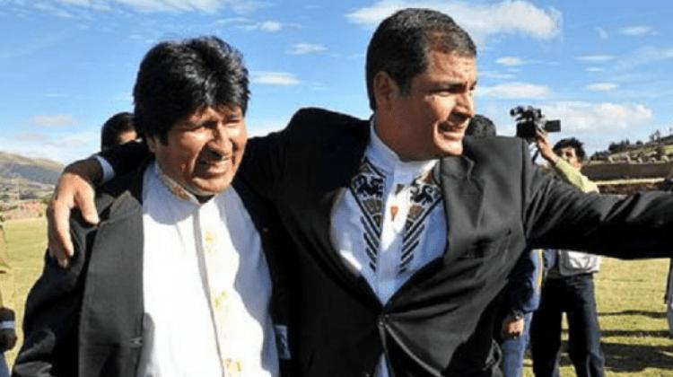 Morales desea que Correa sea su amauta en finanzas