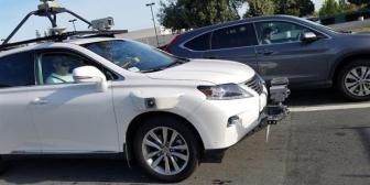 Descubren por las calles a un auto de Apple probando su sistema de manejo autónomo