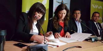 Fundación VIVA y Papelbol firman convenio para reciclaje de material de papel en desuso