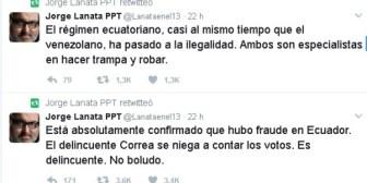 Lanata y el fraude en Ecuador
