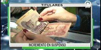 Video titulares de noticias de TV – Bolivia, noche del miércoles 26 de abril de 2017
