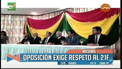 4 opositores aceptan debate; Vice dice con los 6 en bloque