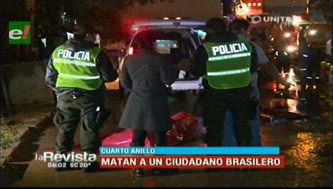 Santa Cruz. Sicarios matan a un brasileño y abandonan vehículo
