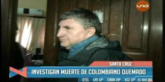 Investigan la muerte de un colombiano que tenía graves quemaduras