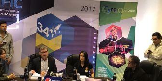 Taquiña y Pepsi traen la música y la alegría a la FEICOBOL 2017