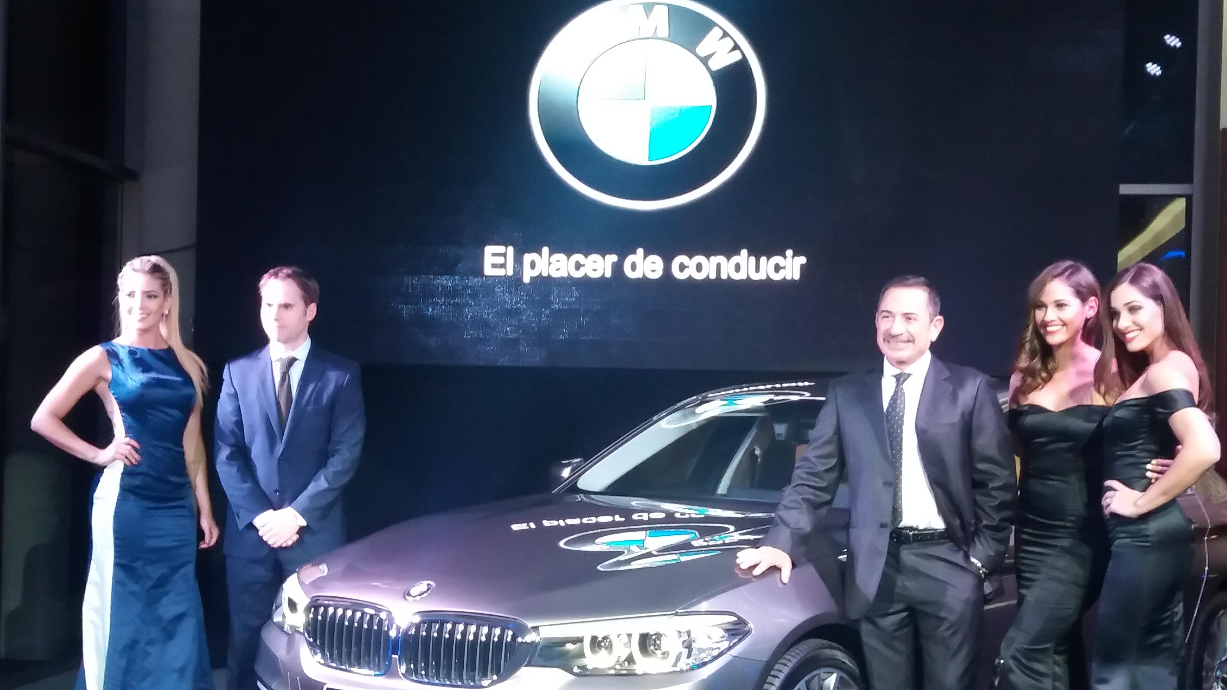 Presentación del BMW Serie 5