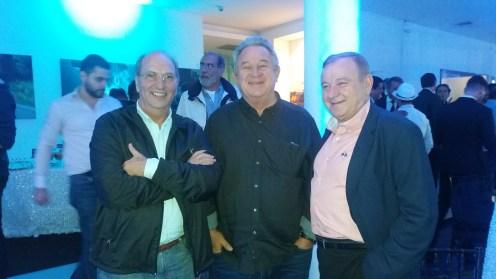 Walter Kreiler, Walter Kuljis y Ivo Kuljis