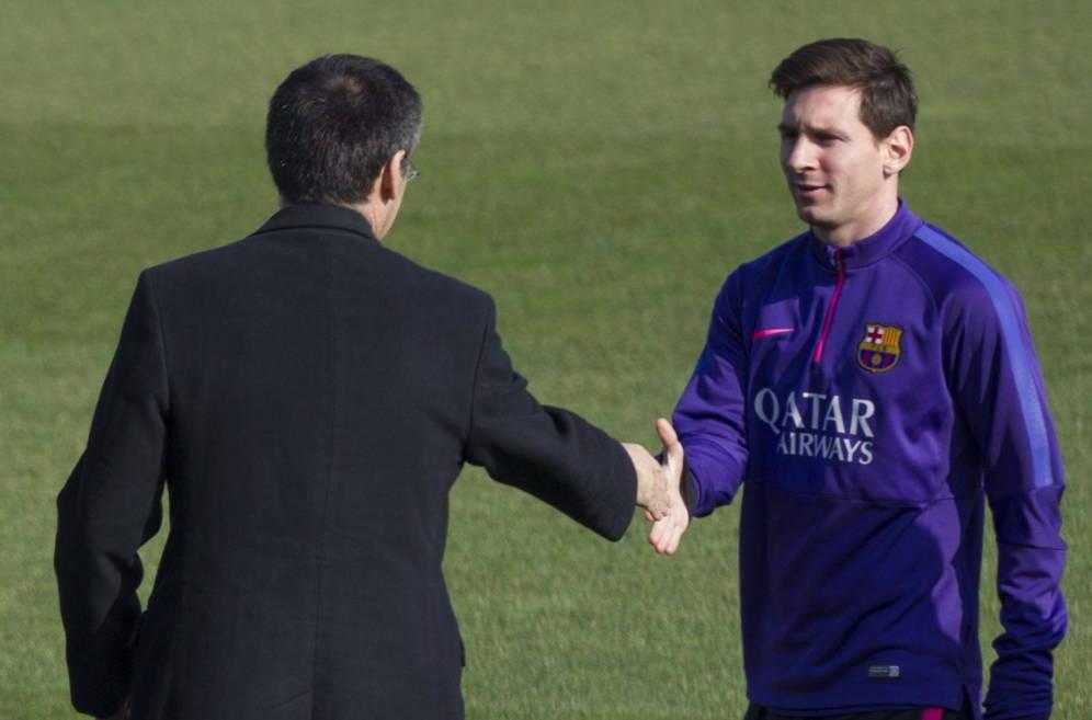 La renovación de Messi está en su