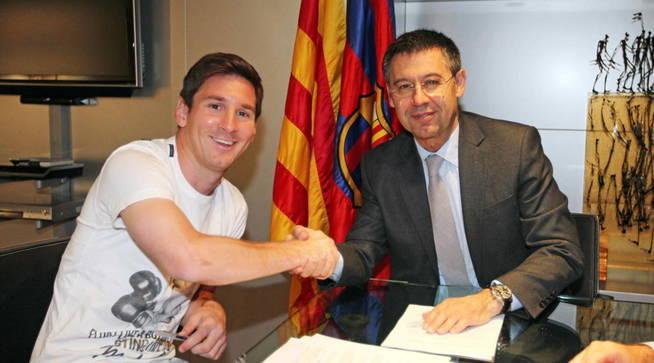 Renovación de Messi, en la recta final: Vicepresidente del Barça