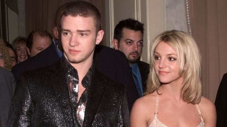(getty) Britney Spears y Justin Timberlake