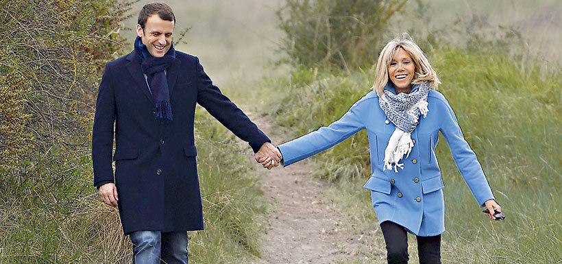 La historia de amor de Macron y su profesora de francés