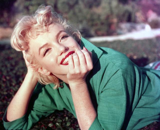 La actriz retratada en California en 1954.