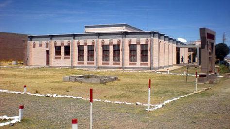 El frontis del museo de Tiahuanaco. Foto: detiahuanaco.com