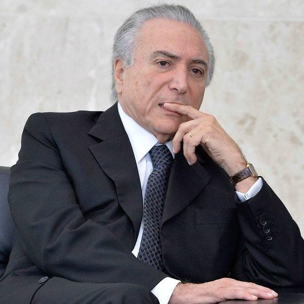 El presidente de Brasail, Michel Temer