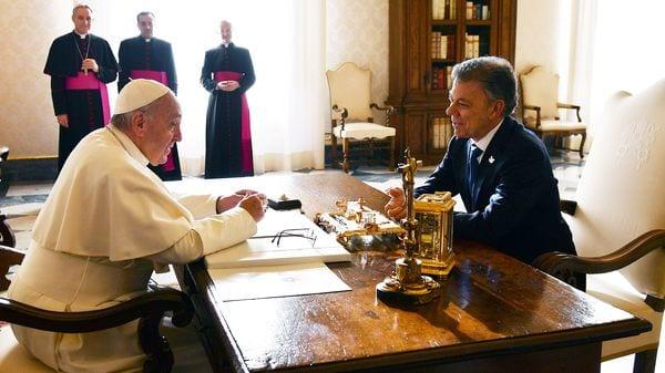 El papa Francisco ha recibido a numerosos jefes de Estado en la Santa Sede