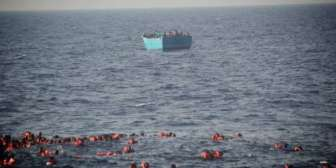 Nuevo naufragio de inmigrantes en el Mediterráneo: 34 muertos, 12 de ellos niños