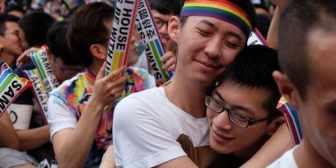 Taiwán se convirtió en el primer país asiático en legalizar el matrimonio gay