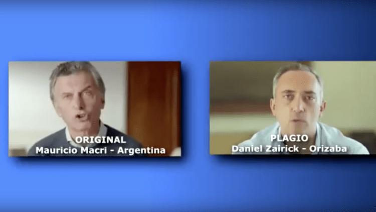 Candidato de Veracruz roba el spot del presidente de Argentina